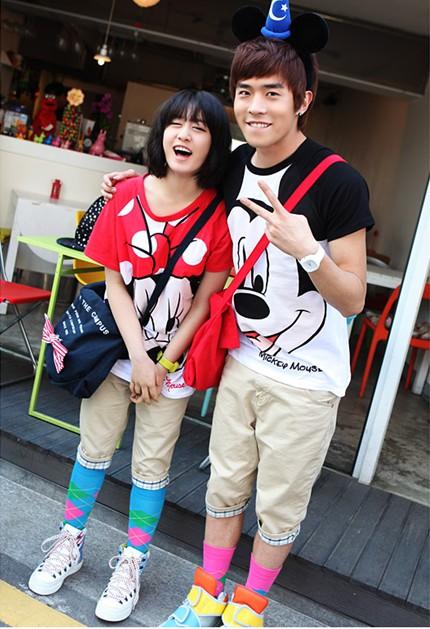 Jinon and Jiyeon = Mickey and Minnie   Minewi SHINee Jiyeon And Junhyung